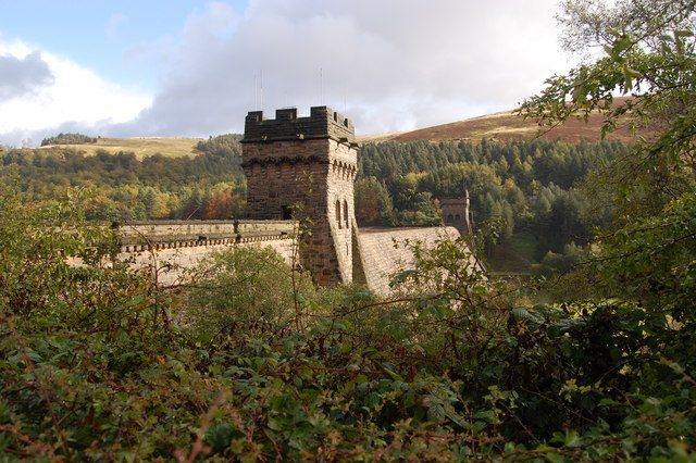 Derwent Dam Peak District
